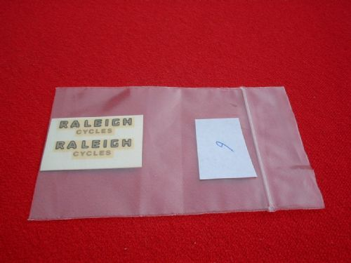 "Dinky Toys 472 Austin ""RALEIGH CYCLES"" TRANSFERS / DECALS"